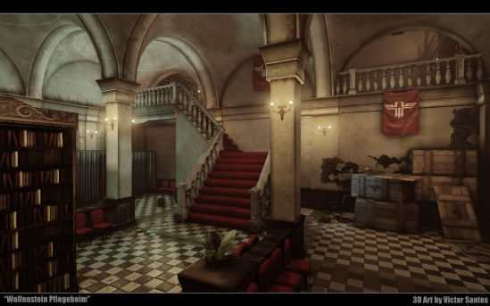 Wolfenstein Pflegeheim UDK game environment